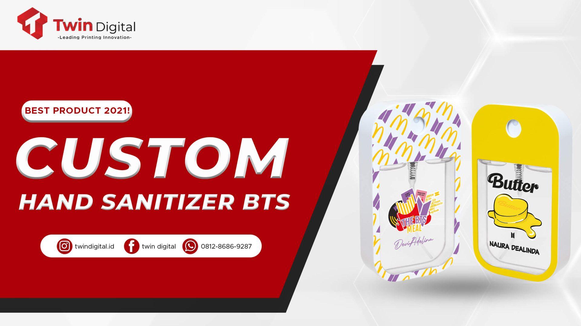 Custom Hand Sanitizer BTS